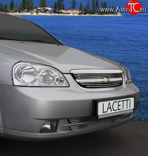 решетки радиатора для chevrolet lacetti sedan